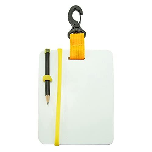 conpoir Cuaderno de Buceo Almohadilla de Escritura Sumergible bajo el Agua Cuaderno Submarino Tableta Sumergible Libro Impermeable Diario Equipo de Buceo