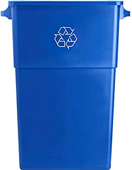 Genuine Joe 28-Gallon Recycling Rectangular Container