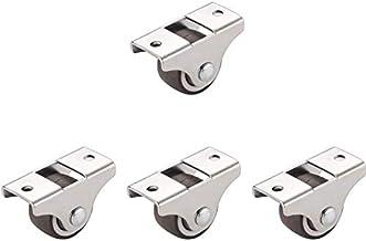 Caster wiel kast schuifdeur venster roller katrol stille nachtkastje Caster rubber georiënteerde wiel 4 stuks (maat: hoogt...