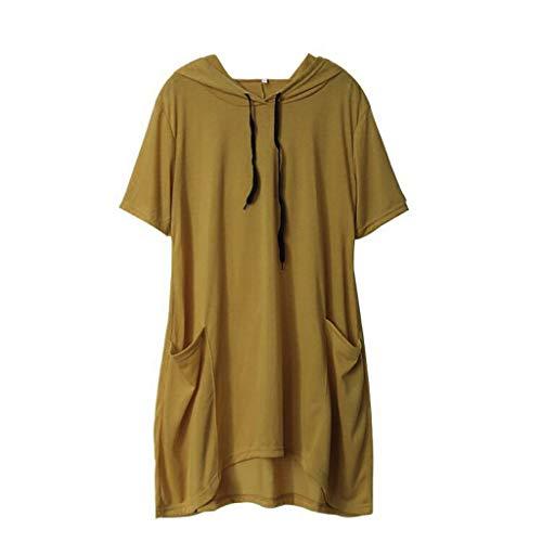UNER Sweat Femme Mignon à Capuche à Manches Longues Cat Casual Sweat-Shirt T-Shirts