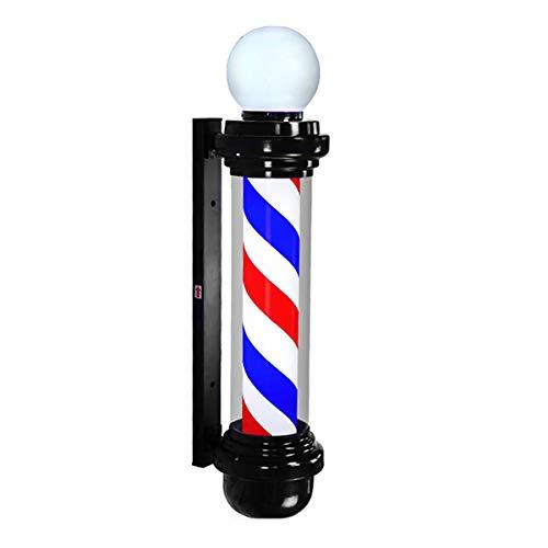 GJNWRQCY zeer helder, waterbestendig, robuust, LED-verlichting, halfrond, wandlamp, retro, outdoor, kapsalon, blauw, 100 cm