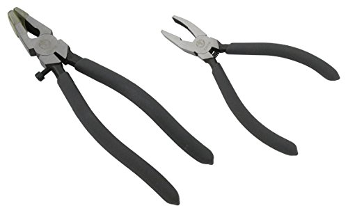 ION TOOL Glass Running & Breaking Pliers, 2PC Kit