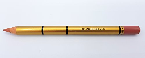 Brooklin Crayon à Lèvres Saumon Noir 207 Imperméable Longue Durée