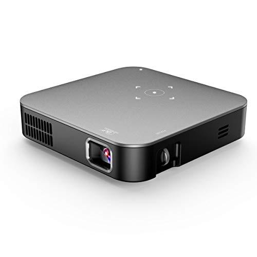 Videoprojector Mini WiFi 4k 1080P HD afstandsbediening Fire Stick voor huis/reizen/zomer Home Theater Wireless Projector