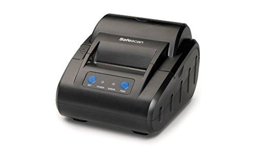 Safescan TP-230 Negra - Impresora térmica de recibos para Safescan 1250, 1450, 6165, 6185, 2465-S, 2665-S, 2685-S y 2985-SX