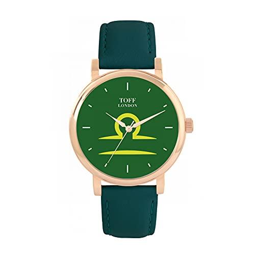 Toff London Reloj Libra Verde