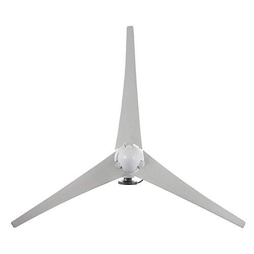 Haosan Windturbine, 100W 200W 700W 12V Windturbine 3-Chip-Set-Laderegler Horizontal Windkraftanlagen,700W