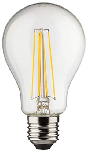 MÜLLER-LICHT Retro-LED-lamp gloeivorm vervangt 75 W, glas, E27, 8 W, helder, 1-delige set