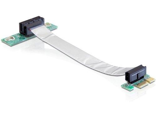 Delock Riser PCI-Express Karte (1x Slot) für 48, 3 cm (19 Zoll) Gehäuse