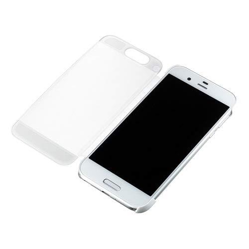 シャープ AQUOS R(SH-03J/SoftBank)用 純正カバー(ジルコニアホワイト)AQUOS Frosted Cover XN-K01-W