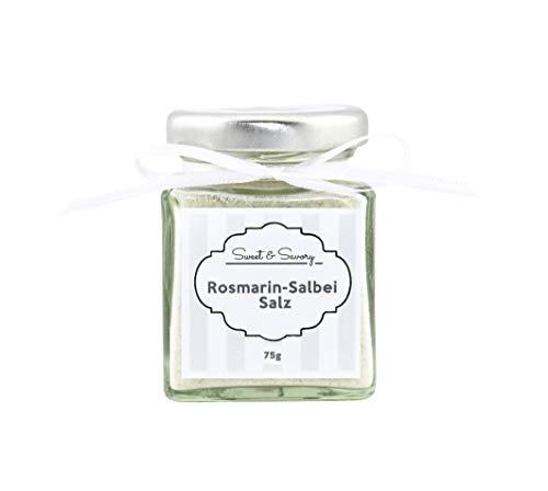 Sweet & Savory Rosmarin-Salbei-Salz, Salz, 75g