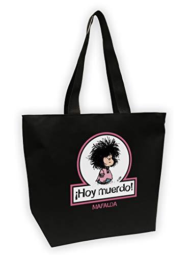 Bolsa Mega shopper Mafalda. Hoy muerdo BOLSAS