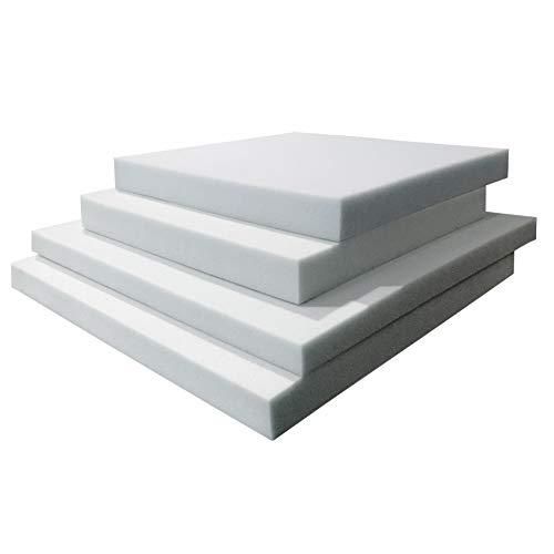 TOPDORMITORIOS - Plancha DE Espuma Standar-Espuma A Medida - 100 cm x 200 cm x 1 cm