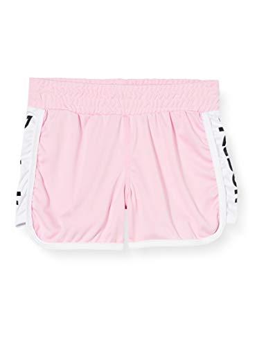 Reebok Pantalon Corto Big Poly Interlock, Niñas, Pink, S