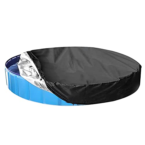 Cubierta de piscina Cubiertas de piscina Redonda Protector Anti-polvo Cubierta a prueba de lluvias Piscina Aislamiento de calor Película Película Película Película para piscinas sobre el suelo - 366cm