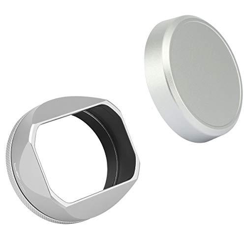 Haoge Square Metal Lens Hood for Fuji Fujifilm FinePix X100V X100F...