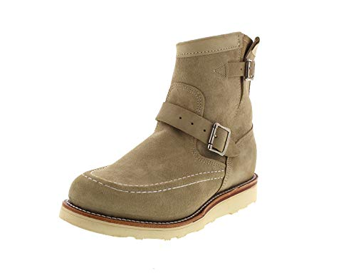 Chippewa Boots - 7' Highlander 1901M09 E - Sand Suede, Größe:US Men 7.5 / EU 41