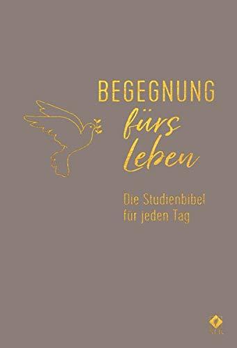 Begegnung fürs Leben, Leder: Die Studienbibel für jeden Tag (Neues Leben. Die Bibel)