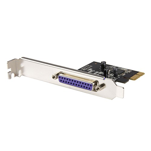 StarTech.com Newer version available PEX1P2: 1 Port PCI Express Dual Profile Parallel Adapter Card - SPP/EPP/ECP - 1x DB25 IEEE 1284 PCIe Parallel Card (PEX1P)