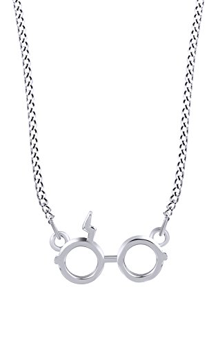 Jewel Zone US Christmas Holiday Sale Harry Potter Glasses Charm Pendant Necklace