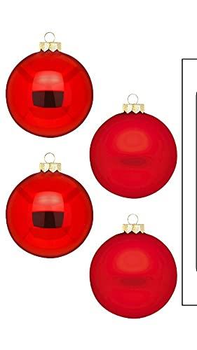 Sfera Merry Red - WE Love Christmas - Magic by Inge - 12 pezzi/8 cm