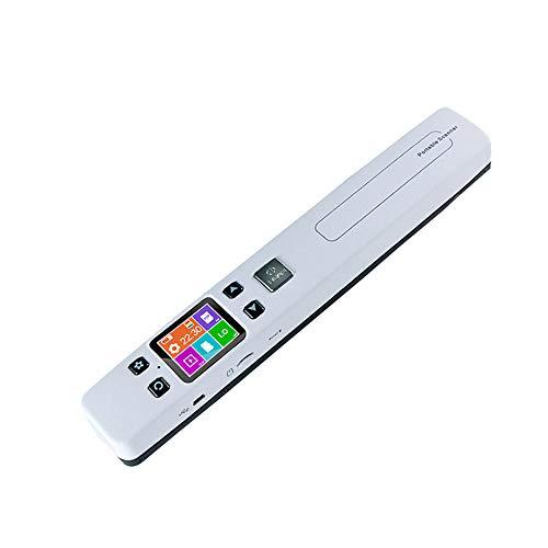 CN&Q con Display LCD da 1,8 Pollici Portatile visualizzatore di WiFi HD documento Scanner Fotografico 1050DPI Supporta Il Formato JPEG o scansione PDF