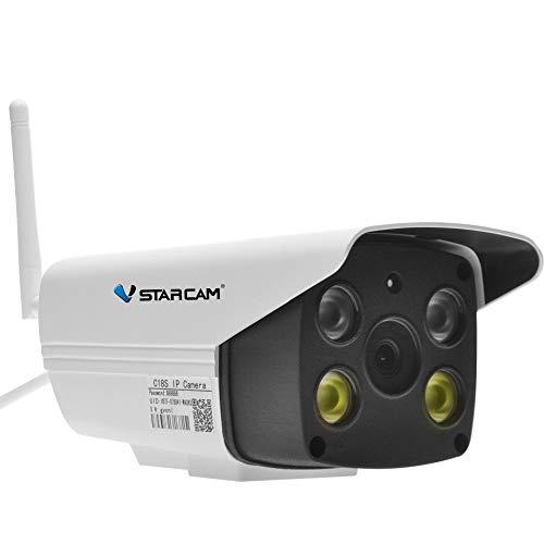 Vstarcam C18S 1080 P Wifi Macchina Fotografica CCTV Impermeabile Esterna a Colori Pieni di Visione Notturna Telecamera di Sicurezza A Infrarossi Della Pallottola