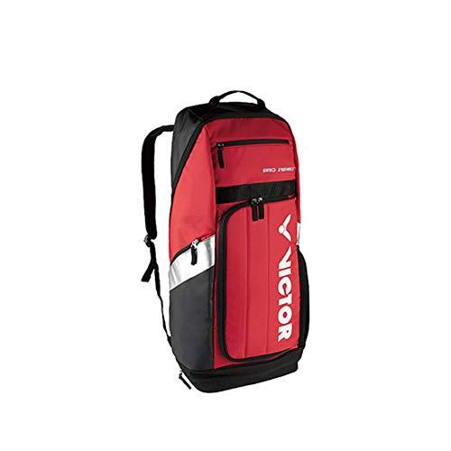 Long Badminton Racket Bag, Tennis Racket Bag, Shoulder Racquet Bag, Handle And Shoulder Strap, Large-capacity Sports Bag, 1-3 Racket Bags, Waterproof And Dustproof. ( Color : A-sports car red black )