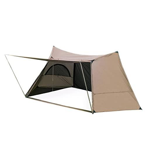Tienda Homestead Camping Tienda De Campa?a Individual con S De Tienda para Bushcrafters Supervivalistas Caza De SenderismoTienda Impermeable Al Aire Libre para Viajar