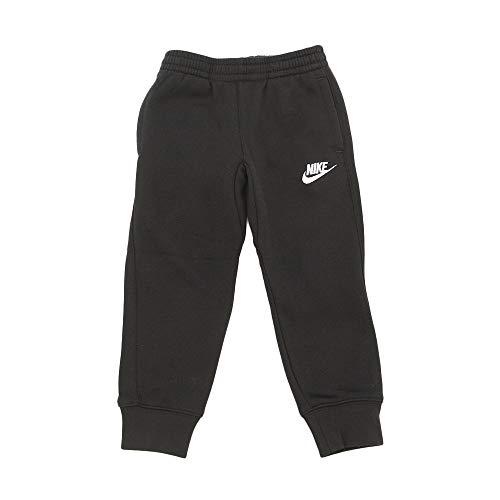 Nike Kids Boy's Club Fleece Rib Cuff Pants (Little Kids) Black 4 Little Kids