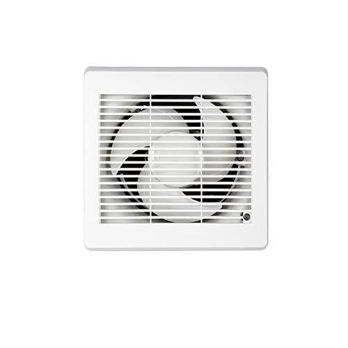 LXZDZ Ventilador de escape tipo pared ventilación baño extractor cocina potente ventana silenciosa extractor de aire