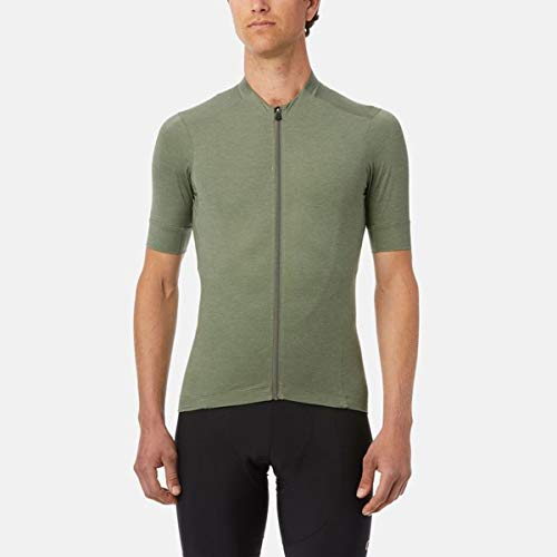 Giro Herren Trikot New Road Jersey Ss XL Olive Heather