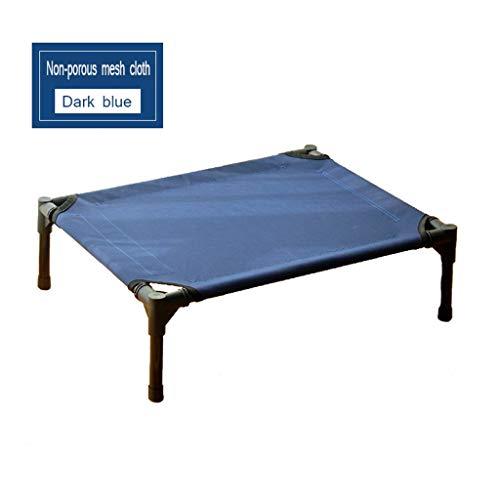 ZXQZ Trampolin-Trampolin, für Hunde, Katzen, Welpen, Haustiere, erhöhtes Bett, tragbarer Camping-Korb, rutschfeste Gummifüße für den Innen- und Außenbereich, Fitness-Trampolin, Stil 1, 76x60cm