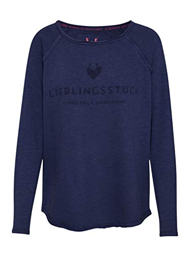 Lieblingsstück Damen Sweatshirt Cathrina EP Blue Denim M