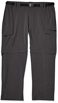 Arctix Men's Cliff Convertible Trail Pant, Charcoal, 3X-Large (48-50W 32L)