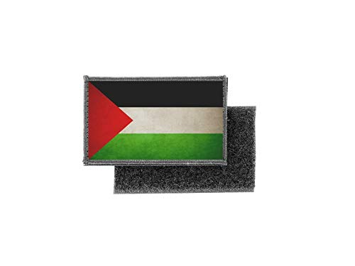 Vlag patch bedrukt Badge Land Vintage Palestina