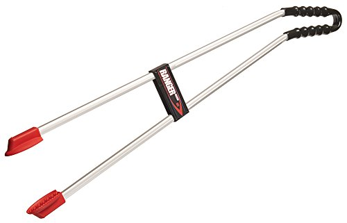 The Helping Hand Company LP3035IB Ranger Max Curved Handle, Red/Silver, 35-Inch