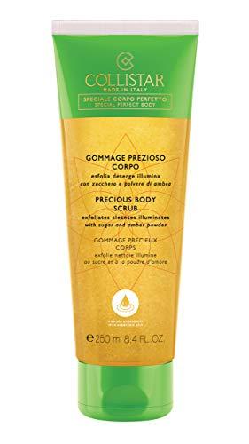 Collistar Gommage Prezioso Corpo   Gommage delicato esfoliante e detergente   Con oli vegetali, zucchero e polvere di ambra   Lascia la pelle liscia e luminosa   Per tutti i tipi di pelle   250 ml