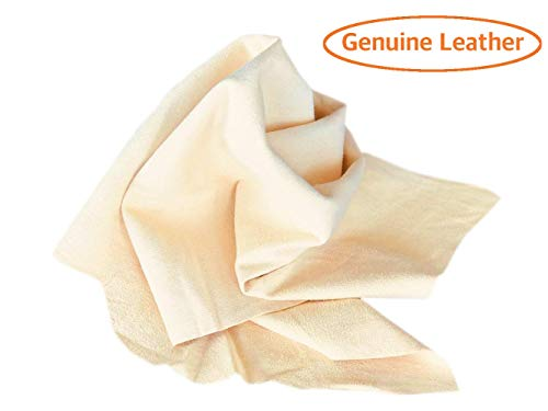 SHEEPSKIN ELITE Chamois Drying Cloth Car Drying Towel Real Leather Super Absorbent Fast Drying Natural Chamois Car Wash Cloth Accessory