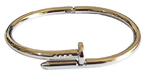 Nagel-Armband Armreif Manschette für Männer Frauen Mädchen Unisex Geschenk Verkleidung Party Modeschmuck