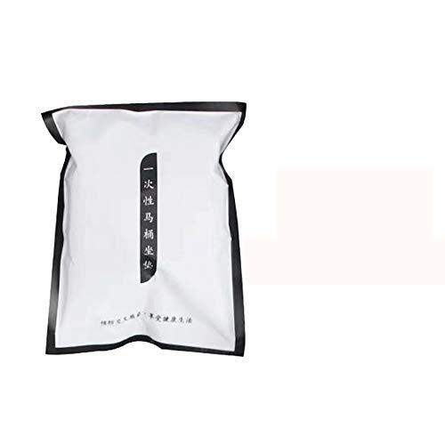 Guoc 20 stücke Universal Wc Einweg Klobrillen Papierschutz Wc-sitzbezug Toilettenpapier Pad Toilettensitzbezüge für Babys,Schwangere,einzeln verpackt für Reise,Krankenhaus,Badezimmer