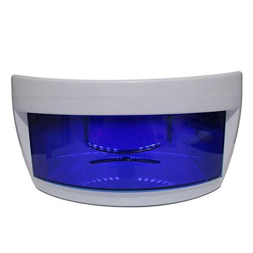 ADLOASHLOU Sterilizzatore UV Box Professional Cabinet con Ultravioletta Germicida Lampada di Sanificazione per Cosmetic Corredo di Attrezzi di Trucco Spazzola di Bellezza Insiemi di Chiodo