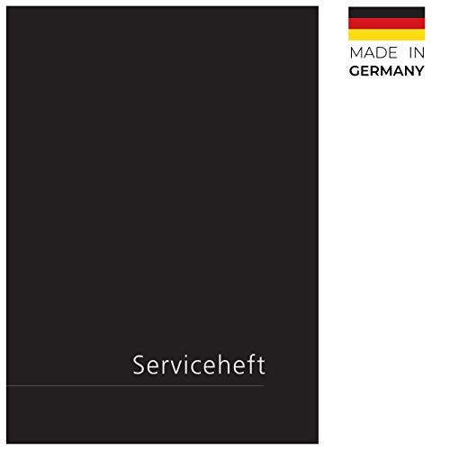 Lobsinger Edles Serviceheft - Scheckheft, FÜR ALLE KFZ Hersteller geeignet ✓ neues universal blanko Wartungsheft!