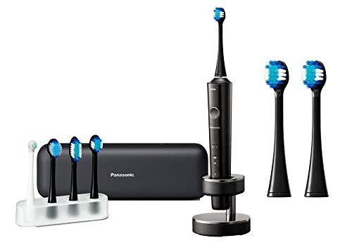 パナソニック 電動歯ブラシ ドルツ Bluetooth搭載 黒 EW-DT51-K + 替えブラシセット