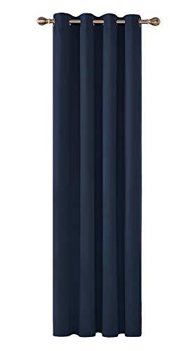 Deconovo Cortinas Dormitorio Moderno Blackout Curtain Suave para Venta