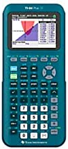 $132 » Texas Instruments TI-84 Plus CE Handheld Graphing Calculator, Teal, 84PLCE/TBL/1L1/AS (Renewed)