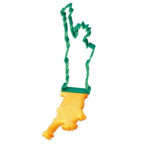 New York Statue of Liberty Souvenir & Ausstechform in grün