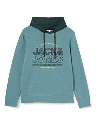 Jack & Jones JCOFUND Sweat Hood Sudadera con Capucha, North Atlantic, M para Hombre