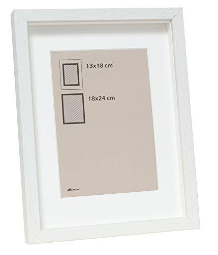 Deknudt Frames S223K1P1_50,0x70,0 fotolijst, met passe-partout, voor liggend formaat, 50 x 70 cm, hout, 50 x 70 cm, wit