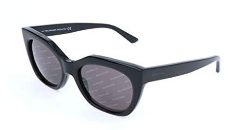 Balenciaga Sunglasses Ba0132 01A-54-18-140 Gafas de sol, Negro (Schwarz), 54 para Mujer